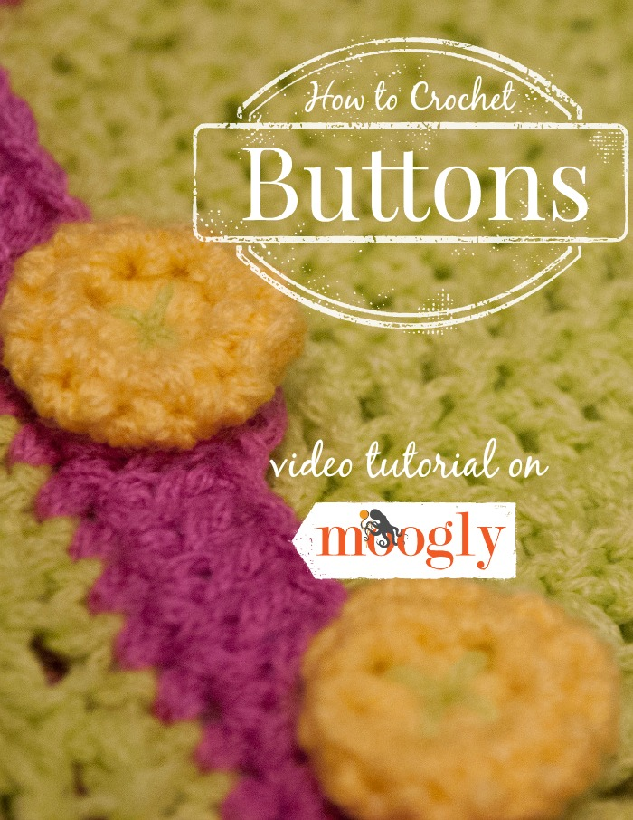 How to Crochet a Button ~ Moogly
