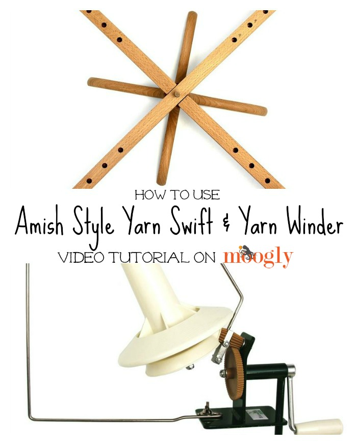How to Use a Yarn Swift and Winder ~ Moogly