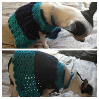 Chihuahua Angel Wing Pinafore Dress ~ Manda Proell - MandaLynn's Crochet Treasures