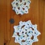 Snowflake Applique ~ Manda Proell - MandaLynn's Crochet Treausres