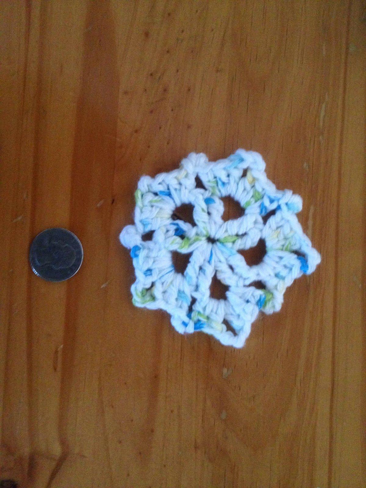 Snow Flake Coaster ~ Manda Proell - MandaLynn's Crochet Treasures