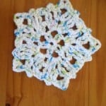 Snow Flake Dish Cloth ~ Manda Proell - MandaLynn's Crochet Treasures