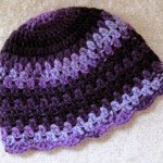 Abraco Crochet Hat ~ Mr. Micawber's Recipe for Happiness