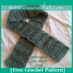 Interrupted Star Stitch Scarf ~ Oui Crochet