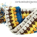 Little Bit of Bling Scarf ~ Oombawka Design