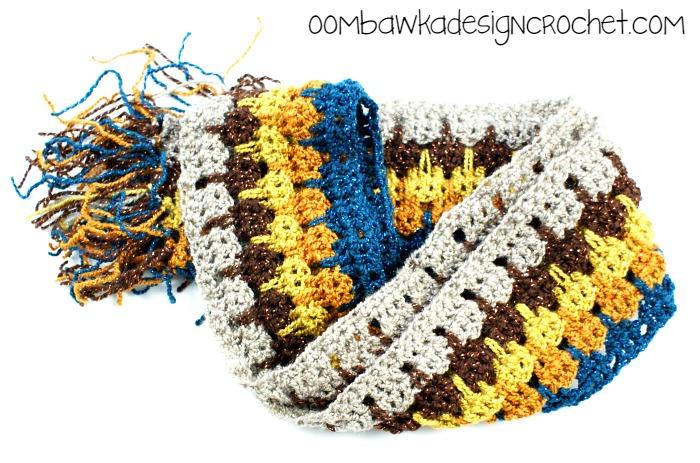 Little Bit of Bling Scarf ~ Oombawka Design