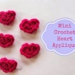 Mini Crochet Hearts ~ Knot Your Nana's Crochet