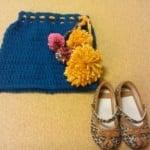 Easy-as-1-2-3 Toddler Pompom Skirt ~ The Anarchist Knitter