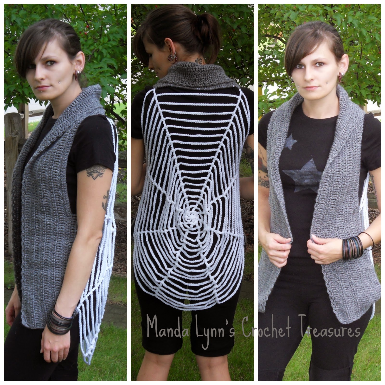 Spiderweb Vest ~ Manda Proell - MandaLynn's Crochet Treasures
