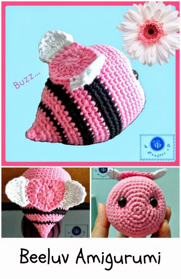 Beeluv Amigurumi ~ FREE Crochet Pattern