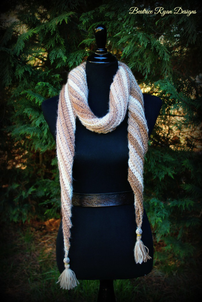 Sands of Time Scarf ~ Beatrice Ryan Designs