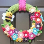 Spring Wreath ~ Repeat Crafter Me