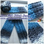 Star Fish Stitch Scarf ~ Meladora's Creations
