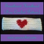 Sweetheart Headband ~ Oui Crochet