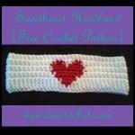 Sweetheart Headband ~ Oui Crochet