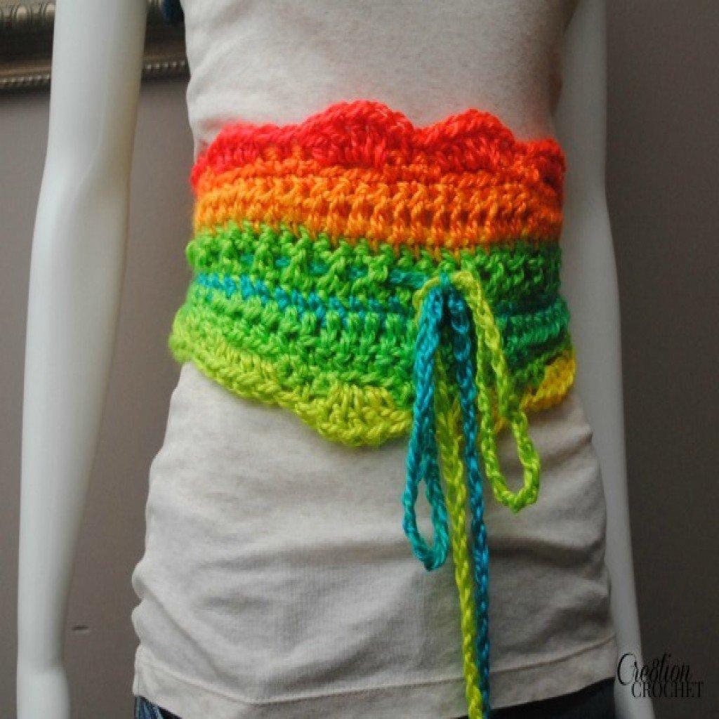 Crochet Belt Pattern