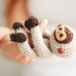 Amigurumi Baby Sloth ~ The Sun and the Turtle