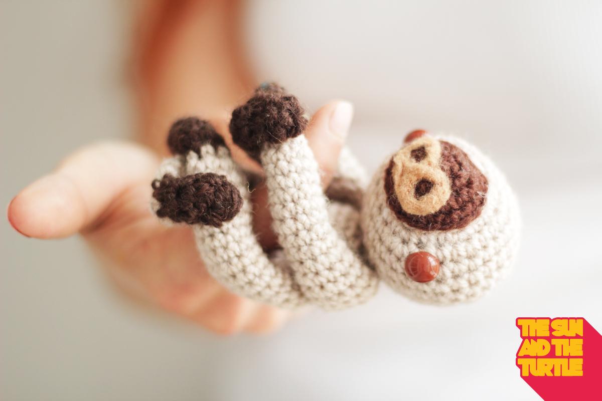 Amigurumi Baby Sloth ~ FREE Crochet Pattern