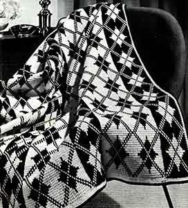 Granada Afghan ~ Free Vintage Crochet