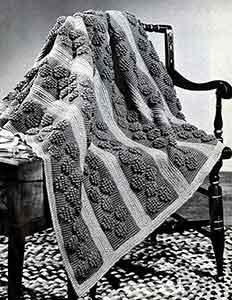 Hopscotch Afghan ~ Free Vintage Crochet