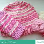 Crochet Hat and Mittens ~ Jane Green – Beautiful Crochet Stuff