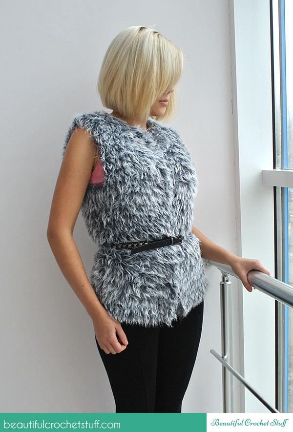 Easy Crochet Vest ~ Jane Green - Beautiful Crochet Stuff