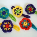 Easy Crochet Flower Headband ~ Simply Collectible