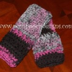 World's Easiest Fingerless Gloves ~ Sara Sach - Posh Pooch Designs