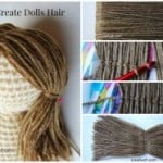 How to Crochet Doll Hair ~ Free Crochet Patterns and Designs by LisaAuch