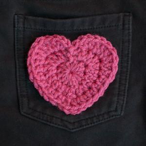 Heart Applique ~ Petals to Picots
