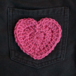 Heart Applique ~ Petals to Picots