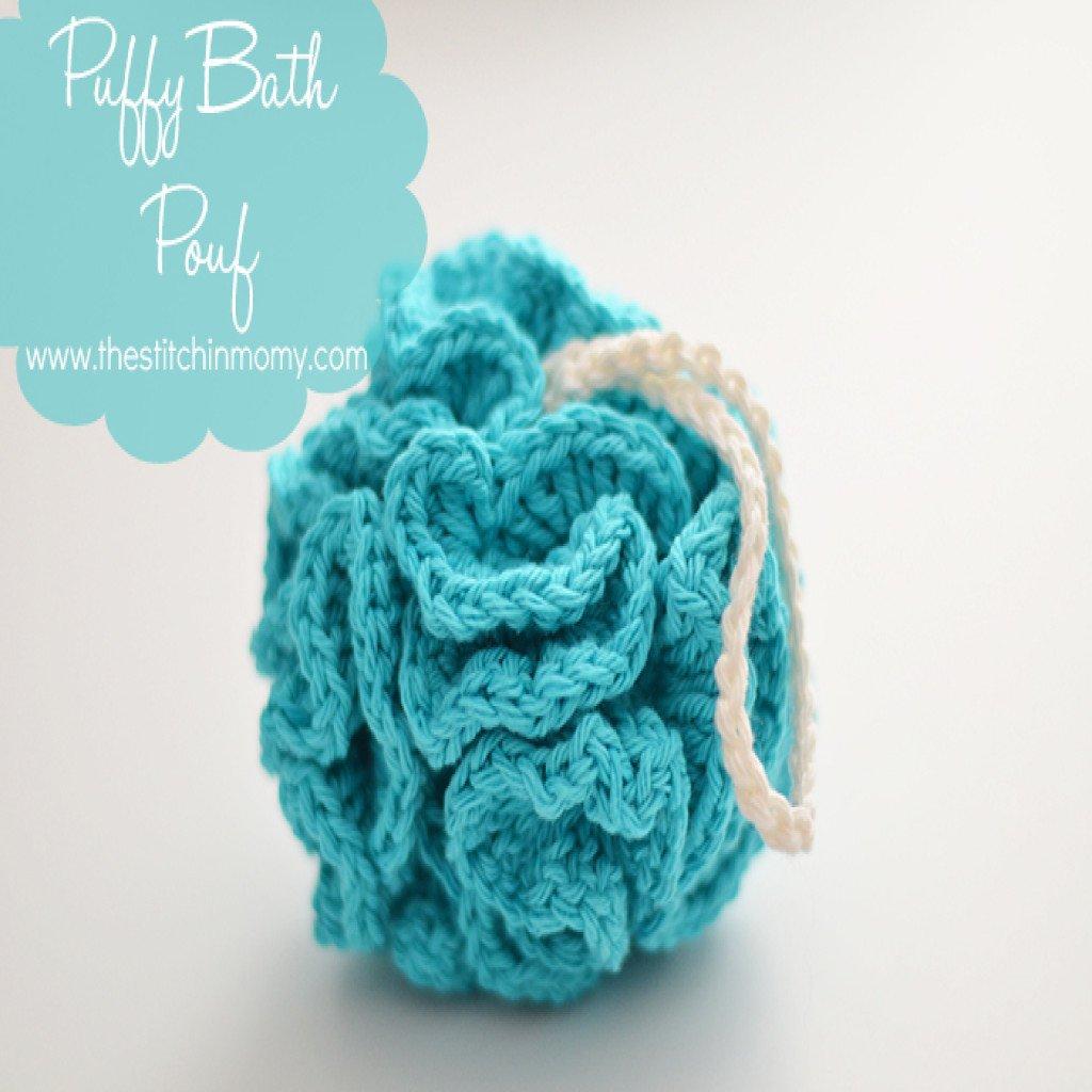 Free Crochet Pattern Bath Pouf : Puffy Bath Pouf ~ FREE Crochet Pattern