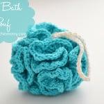 Puffy Bath Pouf ~ The Stitchin' Mommy