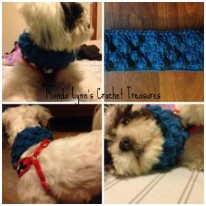 Puff Bubble Cowl 4 Pup ~ Manda Proell - MandaLynn's Crochet Treasures