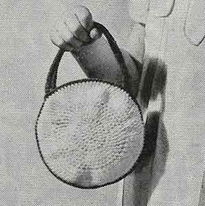 Handbag Pattern ~ Free Vintage Crochet
