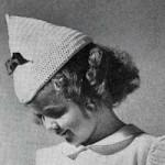 Beret Pattern ~ FREE Vintage Crochet