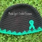 T.B.I. Awareness Hat – Adult Size ~ Manda Proell – MandaLynn's Crochet Treasures