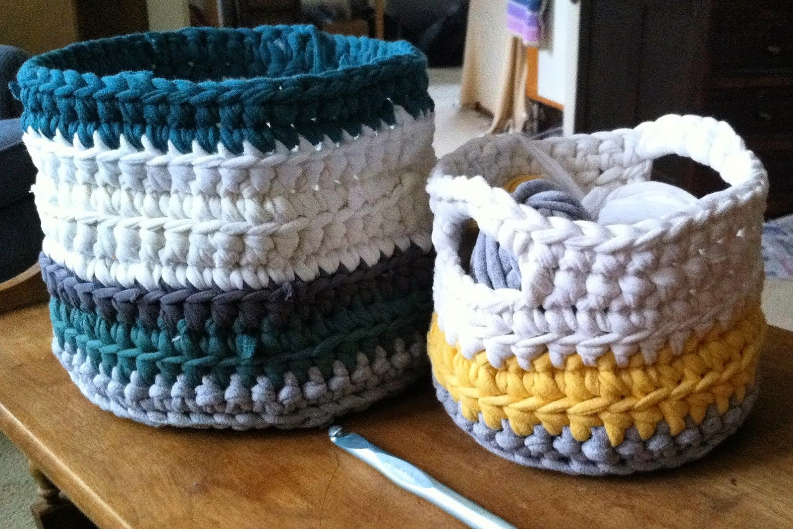 Tee Baskets ~ Fly the Coop Crafts