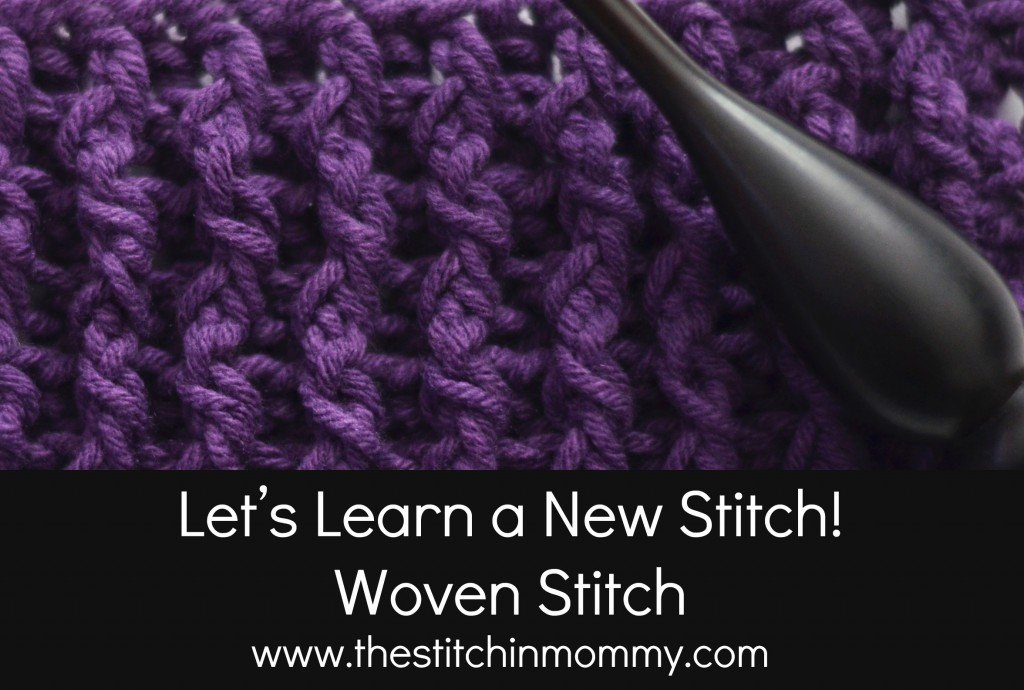 Woven Stitch Afghan Square Tutorial ~ The Stitchin' Mommy