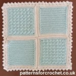 Two 5 inch Motifs ~ Patterns For Crochet