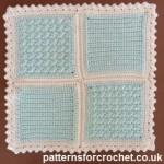 Two 5 inch Motifs ~ Patterns For Crochet