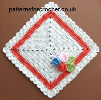 Square Doily ~ Patterns For Crochet