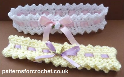 Baby Headband ~ Patterns For Crochet