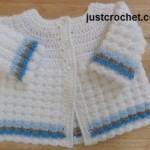 Textured Coat ~ JustCrochet