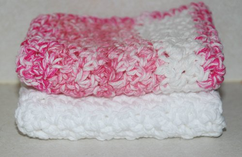 Crochet Patterns Made With Cotton Yarn : Spa Washcloths ~ Amy - Crochet Jewel