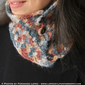 Neck Warmer ~ Petals to Picots