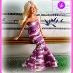 Fashion Doll Mermaid Dress ~ Maz Kwok's Designs