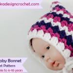 Fiona's Baby Bonnet ~ Oombawka Design