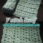 V Stitch Scarf ~ Meladora's Creations