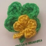 Lucky Charm Pin ~ Tera Kulling – Trifles N Treasures